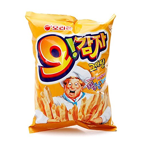 (Oh Gam Ja Korea Potato Snack (115g X 3) 3P Big Size Original Taste)
