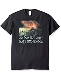 Lord of the Rings The Movie Walk In Mordor Adult T-Shirt Tee