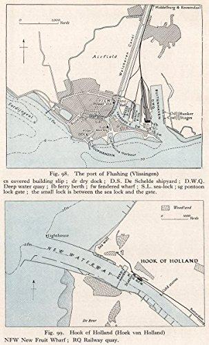 NETHERLANDS FlushingVissingen Hoek vanHook Holland WW2