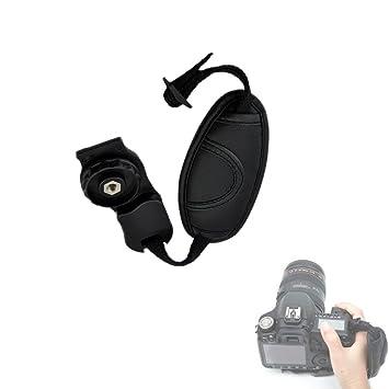 hensych® Universal de Piel Pulsera de pulsera piel de cámara SLR ...