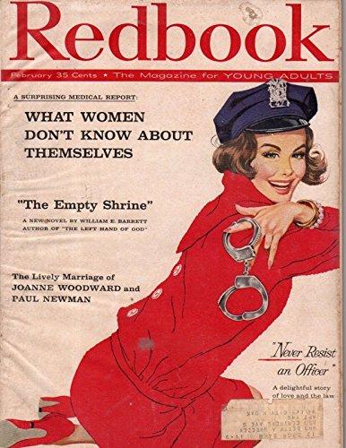 1959 Redbook February - Brookfield WI Minister; Joanne Woodward and Paul - Wi Brookfield