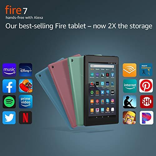 Fire 7 tablet (7″ display, 16 GB) – Plum