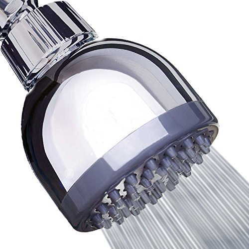 Shower Head - LIMITED TIME SALE - High Pressure High Flow Fixed Chrome 3 Inch Showerhead - Removable Water Restrictor - The Best Shower Head for Low Water Pressure