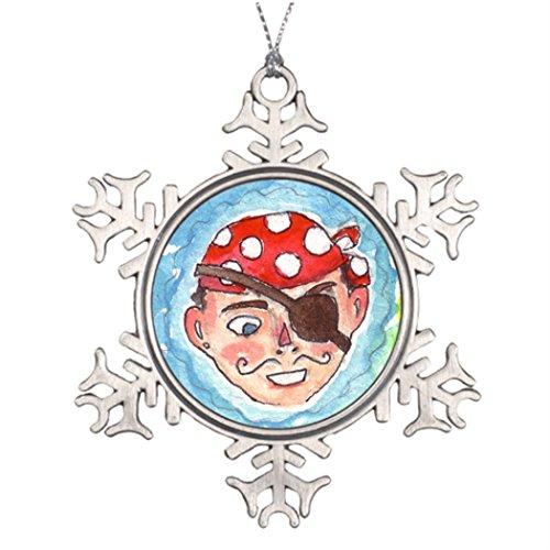 Marty Q Costume Large Christmas Tree Snowflake Ornaments Watercolor Large Christmas Snowflake (Silly Snowman Christmas Costume)