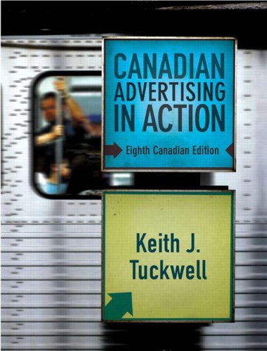 Canadian Advertising in Action (8th Edition)