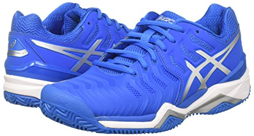 resolution De Tennis directoire Blue Asics Multicolore Gel 7 Homme silver Chaussures white Clay Cq45XwH