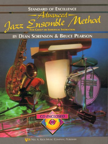 Read Online W35TP1 - Standard of Excellence Advanced Jazz Ensemble Method: 1st Trumpet pdf epub