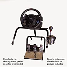 XL21D Big Boy Stand w/XL60R shifter adapter for Thrustmaster TX, T300RS, TH8A, Logitech G29, G920 by Xlerator Wheel Stands