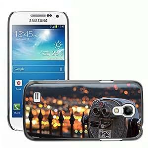 Super Stella Slim PC Hard Case Cover Skin Armor Shell Protection // M00421928 Spy-Glas View City City Lights // Samsung Galaxy S4 Mini i9190