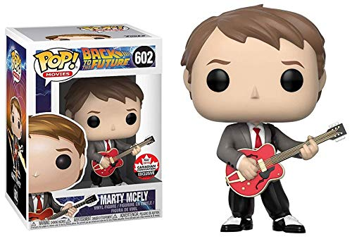 Funko POP Marty McFly With Guitar Exclsuive