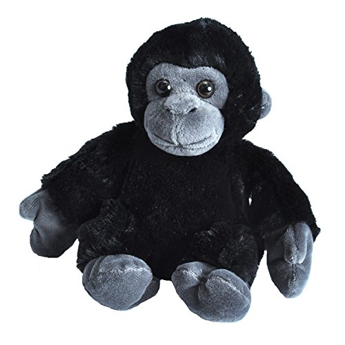 - Wild Republic Gorilla Plush, Stuffed Animal Toy, Gifts for Kids, Hug'Ems 7