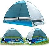 La Jolla Portable Instant Pop Up UV Beach Tent Beach Tent Beach Shelter Blue  sc 1 st  Amazon.com & Amazon.com : Genji Sports Speedway Instant Beach Tent and Changing ...