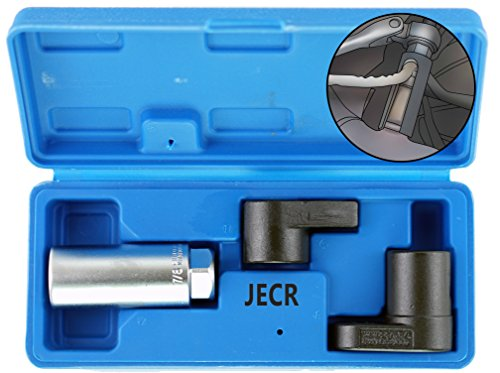 - Oxygen Sensor Socket Remover Tool Set - 3 Piece Universal o2 Sockets Wrench Tool Kit - 7/8, 1/2, and 3/8 Inch Drive for 02 Sensors - 1 Vacuum Switch Socket & 2 Puller Sockets Wrench Kit - 7/8