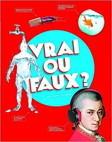 Download Online Vrai ou faux ? pdf, epub ebook