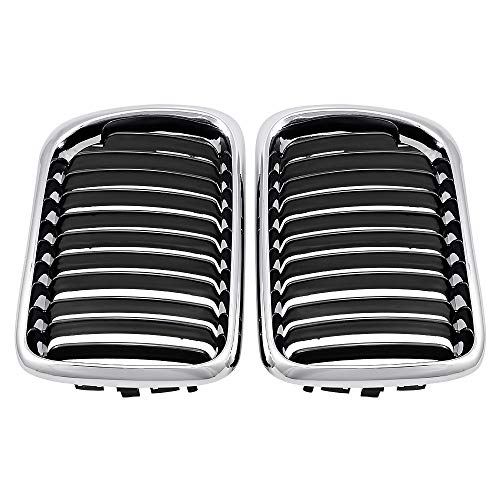 Compatible with 1997-1999 BMW E36 3-series 318 320 323 328 Facelift Front Kidney Grilles Grill