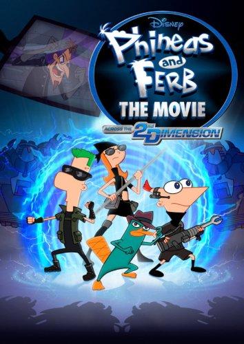 Phineas und Ferb: Quer durch die 2. Dimension Film