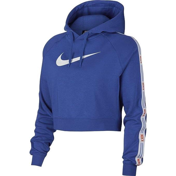 finest selection d6489 47e7d Nike Damen Sweatshirt W NSW Hyp Fm Hoodie FLC