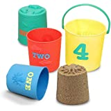 Melissa & Doug Sunny Patch Seaside Sidekicks Nesting Pails