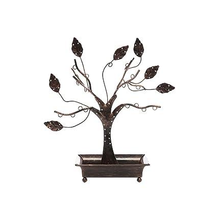 c743db50b315 bestoyard – Torre de joyería organizador de soporte para árbol de soporte  de exhibición joyería perchas