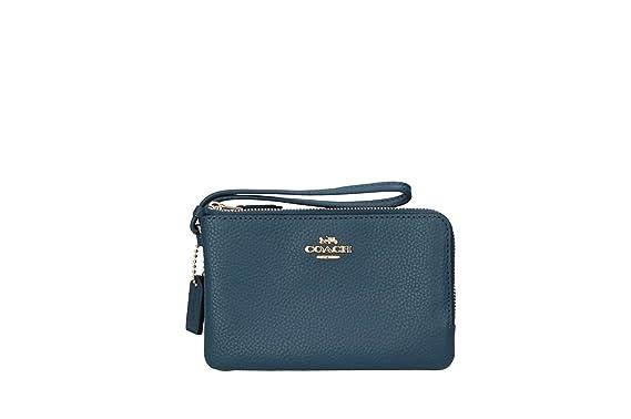 Coach F87590 IMN2E Carteras Mujer Azul TGUNI: Amazon.es: Ropa y accesorios