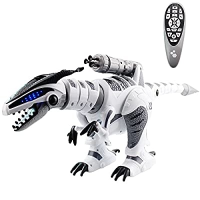 Fistone RC Robot Dinosaur Intelligent Interactive Smart Toy 2.4G Electronic Remote Robot Walking Dancing Singing with Fight Mode