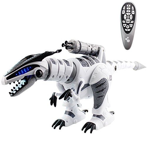 Fistone RC Robot Dinosaur Intelligent Interactive Smart Toy Electronic Remote Controller Robot Walking Dancing Singing with Fight Mode Toys for Kids Boys Girls Age 5, 6, 7, 8, 9, 10 and Up Year Old ()