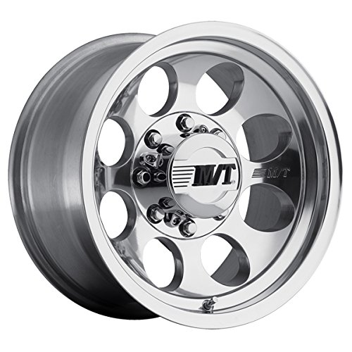 16″ Inch Mickey Classic III Polished 16×8 8×6.5″ -12 Polished Wheel Rim