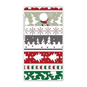 Red Socks Chrustmas Deer White Phone Case for Nokia Lumia X