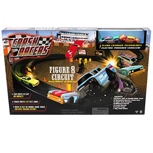Crash Racers Figure 8 Circuit Track Set
