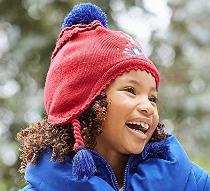 5e2ff39e96c06 Amazon.co.jp: (ディズニー) Disney アバローのプリンセス エレナ ポンポン帽 ニット帽 帽子 子供用 女の子 (頭囲50cm  XXS XS(2-3歳))  並行輸入品   ベビー  ...