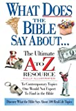How does a 2,000-year-old book apply to the 21st century? This Ultimate A to Z Resource applies biblical insight to hundreds of contemporary topics ranging from addiction, to political infighting, to world hunger.Features:        Quick and portabl...