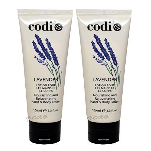 2 pcs Codi Lavender Hand & Body Lotion Nourishing and rejuve