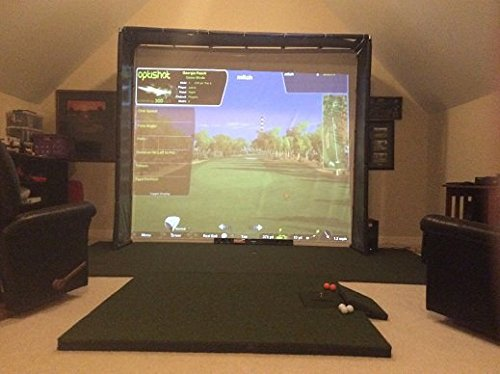 Ultimate Golf/ Home Theater HD Optishot Simulator Package
