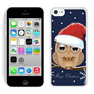 Recommend Design Iphone 5C TPU Case Christmas Owls White iPhone 5C Case 3