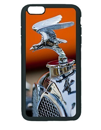 1932-alvis-hood-ornament-2-iphone-5c-black-rubber-tpu-case-silicone-patterned-protective-skin-rubber