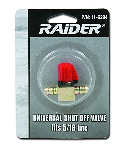 Raider Straight In Line Fuel Shut Off Valve