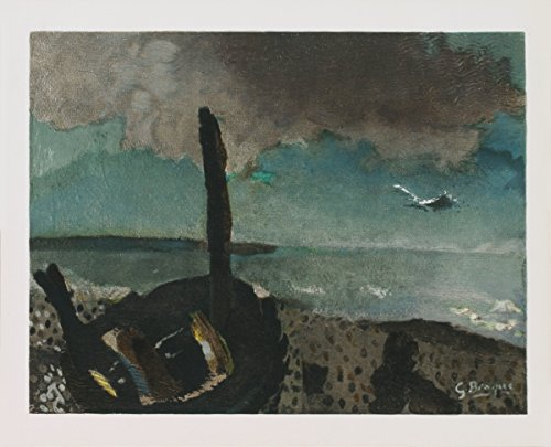 Georges Braque-Boat on a Shore in Brittany-Lithograph