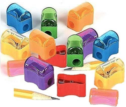 Fun Express Bulk Plastic Pencil Sharpener Assortment (144 Pack) ()