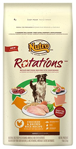 NUTRO Rotations Adult Dog Food, Chicken, Brown Rice and Egg 4 lbs.