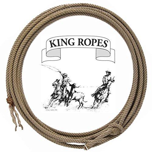 King Saddlery Inc. Treated Poly Calf Rope 9.5 - Calf Rope Poly