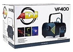 Package: American DJ VF400 Portable/Mini 400 Watt Fog Machine with Wired Remote Control + Rockville RFJG Gallon Fog/Smoke Juice Fluid