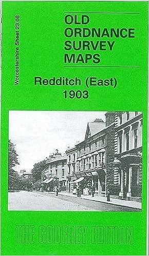 Old Ordnance Survey Detailed Maps Redditch East Worcestershire 1903 Sheet 23.08