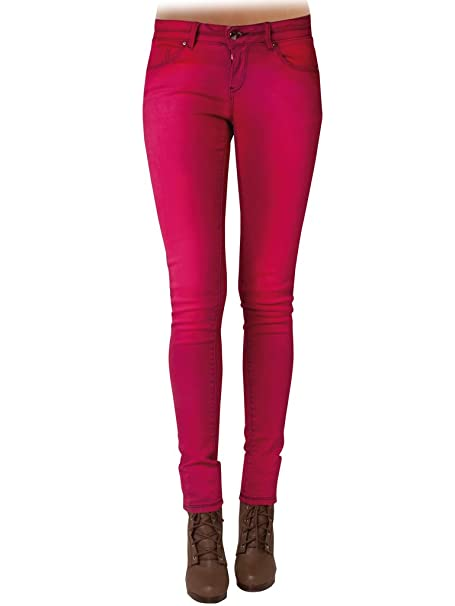 d235f53a7 Carrera Jeans - Pantalón 777 para Mujer, Pitillo, Color Liso, Tejido ...