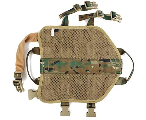 MD Group Dog Harness Army Tactical Dog Vests Hunting Training Molle Vest Outdoor Clothes by MD Group (Image #5)