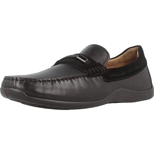 Mocasines para Hombre, Color Negro, Marca GEOX, Modelo Mocasines para Hombre GEOX U XENSE MOX Negro: Amazon.es: Zapatos y complementos