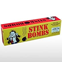 Stink Bombs Yellow Box