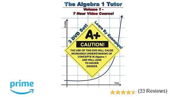 Amazon.com: The Algebra 1 Tutor: Volume 1: Jason Gibson ...