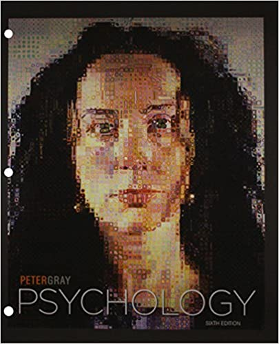 Amazon psychology 9781429258661 peter gray books psychology 6th ed edition fandeluxe Gallery