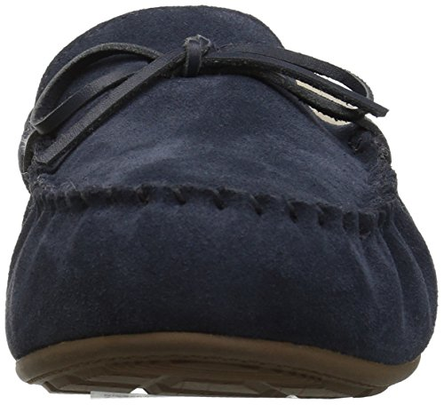 206 Collectieve Vrouwen Pearson Shearling Mocassin Slipper Marine Suede