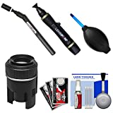 Lenspen SensorKlear II Pen with Loupe SENSOR Cleaning System + Kit for Canon EOS 6D, 70D, 5D Mark II III, Rebel T3, T3i, T4i, T5, T5i, SL1 DSLR Cameras